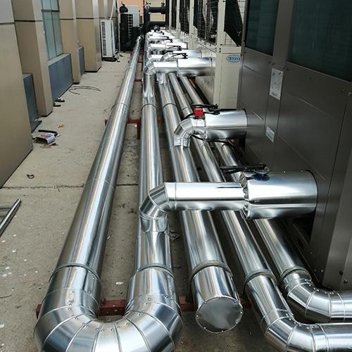 空调机房铝皮保温施工
