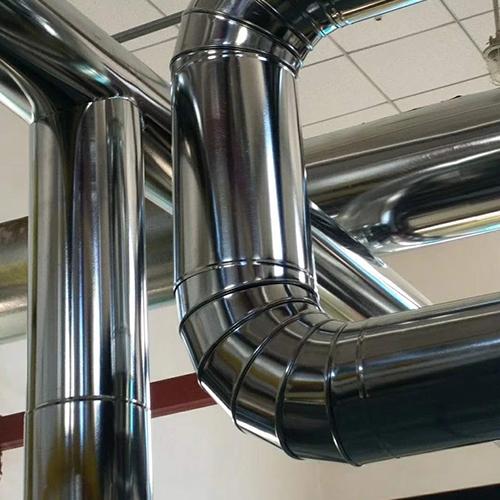 不锈钢管道保温施工