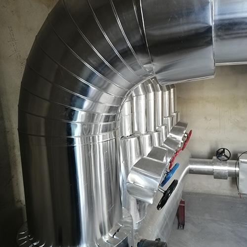 空调管道铝皮保温施工