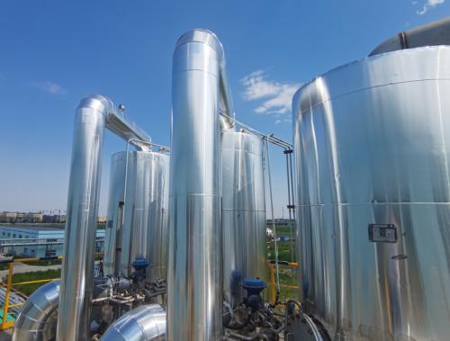 铝皮管道设备保温施工